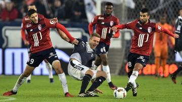 2017-02-04 Kontuzja Lewczuka w meczu ze Stade Rennes