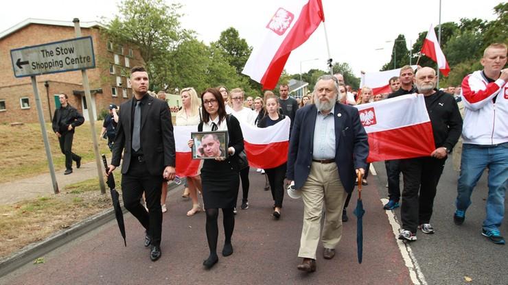 """Polska policja wyśle jednego funkcjonariusza do Harlow. Będzie """"wysyłał silny sygnał o wsparciu"""""""