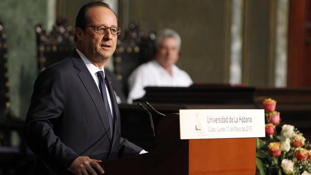 Kuba: Hollande za zniesieniem amerykańskiego embarga