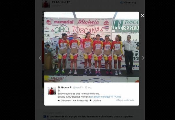 Dziewczyny na rowerach wyglądają jak bez majtek?