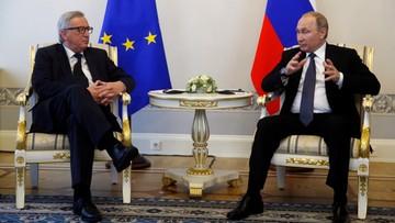 """16-06-2016 21:08 Szef KE na """"szczerej rozmowie"""" z Putinem"""