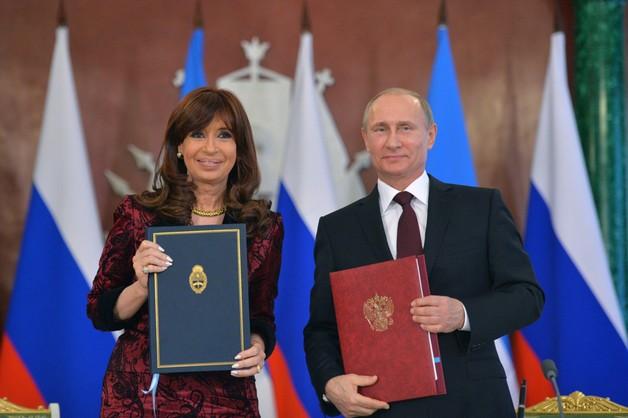 Argentyna strategicznym partnerem Rosji