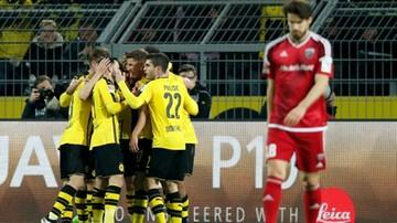 2017-03-17 Skromne zwycięstwo Borussii Dortmund. Kolejny gol Aubameyanga