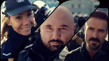 """10-01-2018 17:26 """"Pitbull"""" - wersja policyjna. Bołądź, Stramowski i Vega zachęcają do podjęcia służby"""