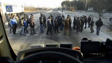 11-12-2015 14:44 Ukraina: po proteście górników przywrócono ruch na granicy z Polską