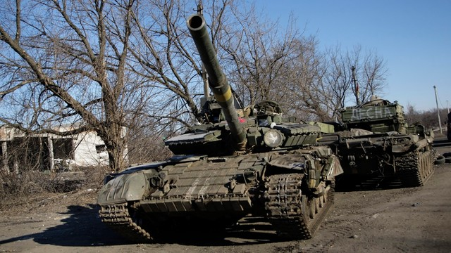 Ponad 100 rosyjskich żołnierzy zginęło w tym roku w Donbasie