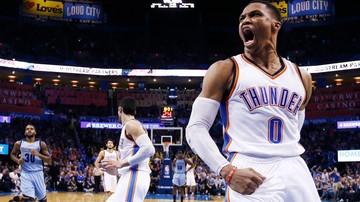 2017-01-16 NBA: Westbrook uzyskał dwudziesty triple-double