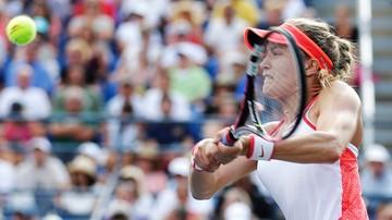 2015-09-06 US Open: Bouchard ma wstrząs mózgu i oddała walkowerem mecz 1/8 finału singla