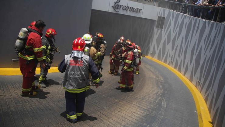 Peru: pożar w pobliżu hotelu, gdzie zatrzymają się światowi przywódcy przybyli na szczyt gospodarczy