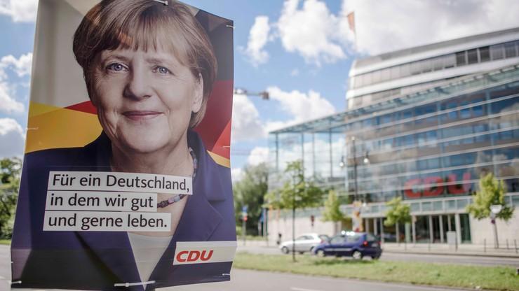 Spadek poparcia dla Merkel. Przedwyborczy sondaż ARD