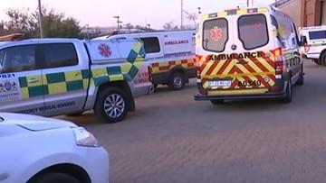 29-07-2017 22:48 Wybuch paniki podczas meczu piłkarskiego w RPA. Są ofiary