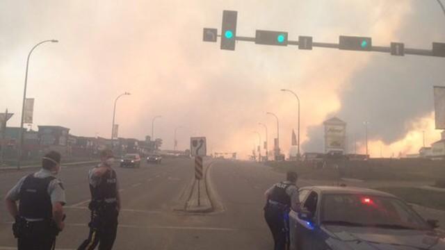 Kanada: Pożar w Albercie może jeszcze w sobotę podwoić swój zasięg