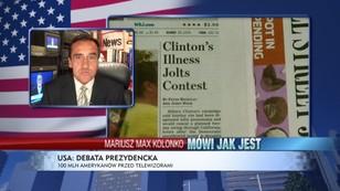 Debata Clinton vs. Trump - 100 mln widzów czeka na decydujące stracie
