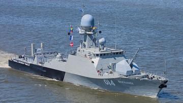 25-10-2016 23:48 Dwa rosyjskie okręty wojenne wpłynęły we wtorek wieczorem na wody Morza Bałtyckiego