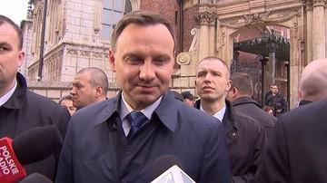 Prezydent Duda na Wawelu: emocje są i będą