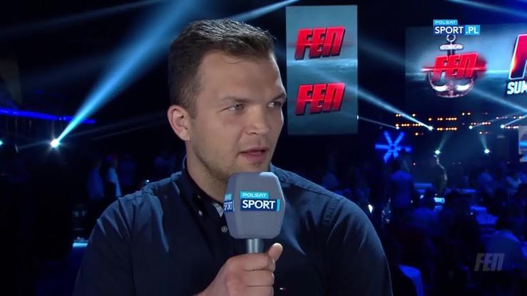 Biszczak: Walka z Wierzbickim o pas? To wydaje się naturalne