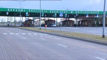 01-02-2016 09:35 Ruch ciężarówek na granicy z obwodem kaliningradzkim zamarł