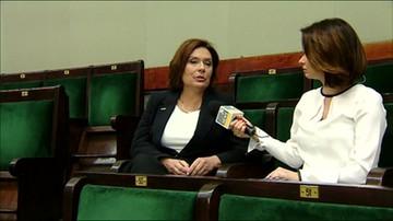 Wicemarszałek Sejmu Małgorzata Kidawa-Błońska (PO)