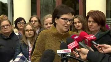 Kopacz atakuje Szydło: PiS nie identyfikuje się z prawami kobiet
