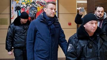 Nawalny skazany na pięć lat pozbawienia wolności w zawieszeniu