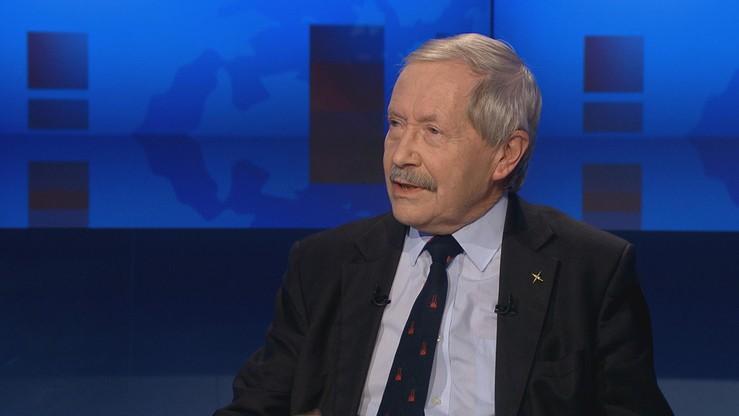 """Co może, a czego nie może Komisja Wenecka - dziś w programie """"Gość Wydarzeń"""" Janusz Onyszkiewicz, były minister obrony"""