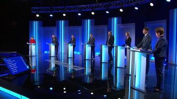 Debata 8 liderów: koalicje po wyborach