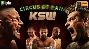 2016-11-24 Gala KSW 37: Circus of Pain na żywo w Cyfrowym Polsacie i IPLI