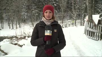 Atak zimy na Podhalu. W Zakopanem spadło 20 cm śniegu
