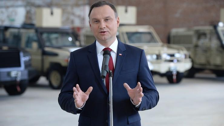 """""""Chciałbym, aby relacje Polski z USA były jak najlepsze"""" Prezydent Duda o wyborze Trumpa"""