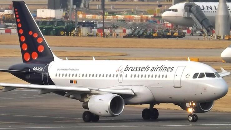 Incydent w samolocie Brussels Airlines z udziałem Polaków. Część z nich była pijana i obrażała załogę