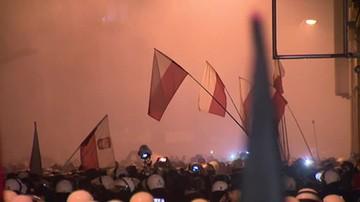 Manifestacje narodowców i antyfaszystów w Poznaniu