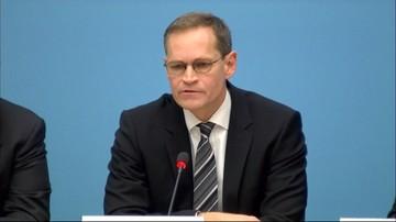 20-12-2016 13:30 Szef niemieckiego MSW: podejrzany nie przyznaje się do winy