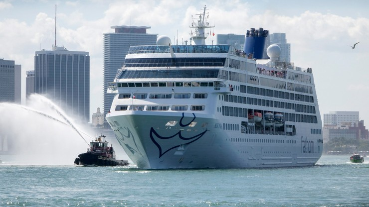 Statek wycieczkowy wypłynął z USA na Kubę. Po 50 latach