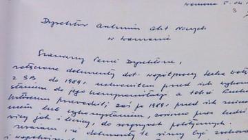 22-02-2016 13:24 Kiszczak chciał publikacji teczek 5 lat po śmierci Wałęsy