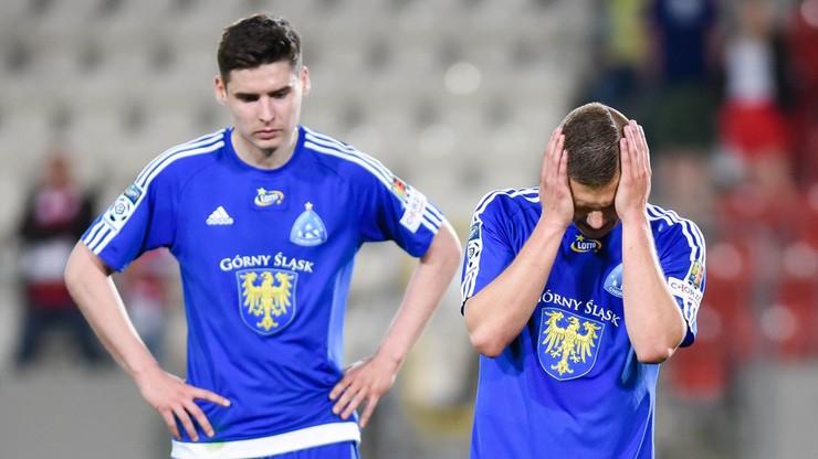 Ruch Chorzów spadł z Ekstraklasy!