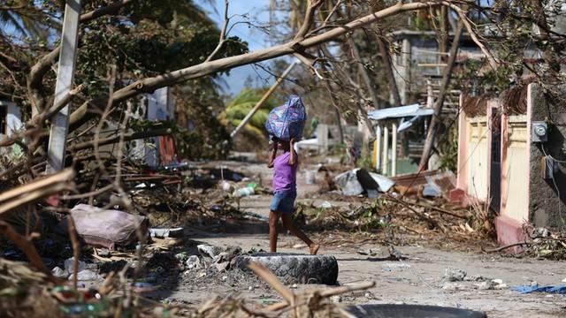 Huragan Matthew zabił 1000 ludzi na Haiti