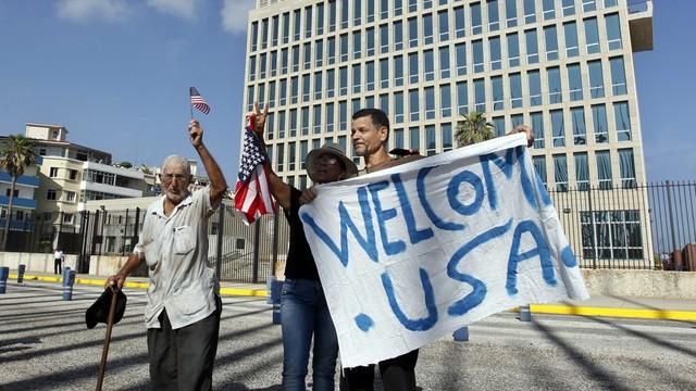 Większość Amerykanów popiera nawiązanie stosunków z Kubą