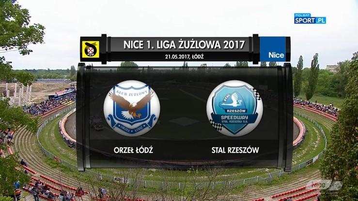 2017-05-21 Orzeł Łódź - Stal Rzeszów 53:37. Skrót meczu