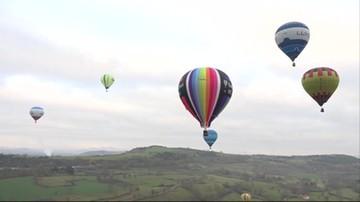 Francja: zawody balonowe z okazji rocznicy pierwszego lotu bez uwięzi