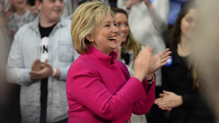 Sondaż: Clinton i Trump mają największe szanse na wygranie wyborów