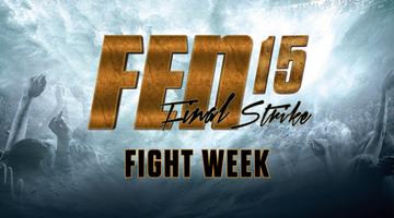2017-01-10 Rozkład jazdy gali FEN 15 Final Strike