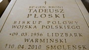 27-04-2017 09:00 Kolejna ekshumacja ofiary katastrofy smoleńskiej - z grobu bp. Płoskiego