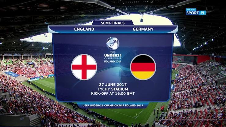 Euro U-21: Anglia - Niemcy 2:2. Skrót meczu
