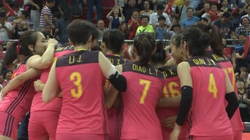 2017-08-02 Final Six World Grand Prix: Wygrana Chinek z Brazylią
