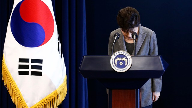 Korea Południowa: prezydent Park ogłasza, że może ustąpić ze stanowiska