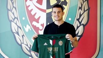 2016-08-29 Były piłkarz Manchesteru City i Barcelony w Śląsku Wrocław