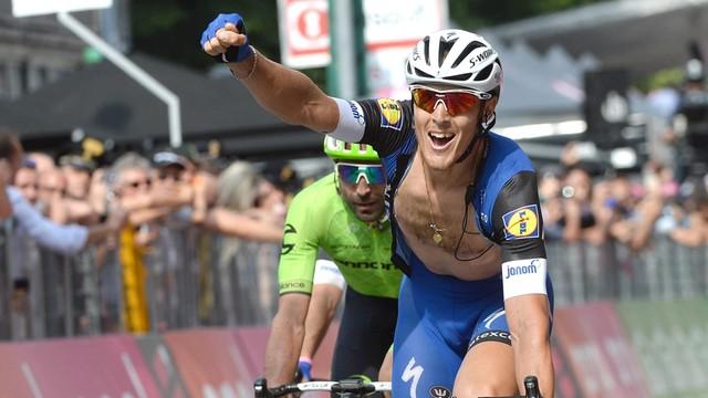 Giro d'Italia - Trentin wygrał 18. etap, Kruijswijk nadal liderem