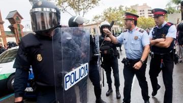 Stanęli po stronie organizatorów referendum. Dochodzenia przeciwko katalońskiej policji
