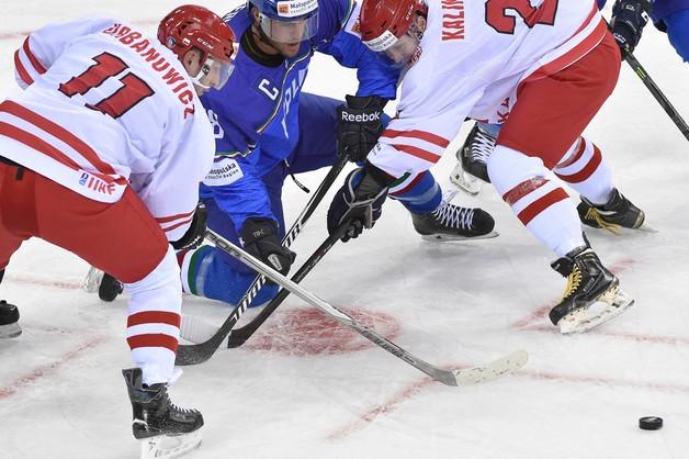 MŚ w hokeju – Polska - Włochy 1:2