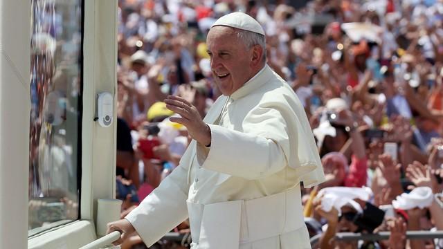 Około miliona ludzi na papieskiej mszy w Ekwadorze